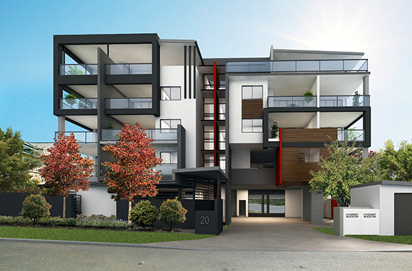 HQ Apartments, Chermside width=